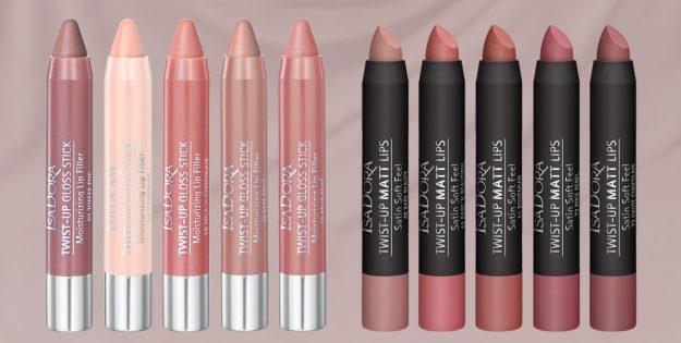 isadora twist up lip gloss