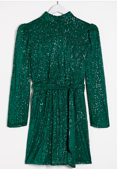 Green Emerald Dress - Oxendales €95
