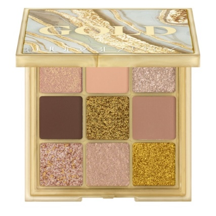 Huda Beauty x Cult Beauty exclusive Gold Obsessions palette